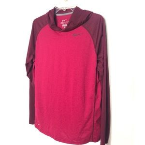 Nike Dri-Fit lull over with hood Size M